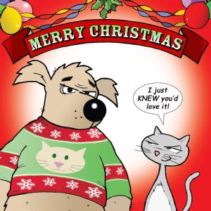 CAN3 – I Just Knew You Would Love It Funny Cat Card